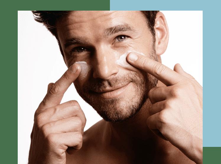 tratamiento facial para el hombre